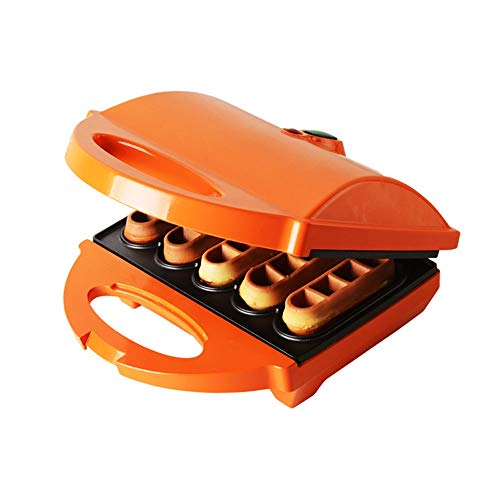 New Mini Waffle Maker,Electric Waffle Maker,Stainless Steel Mould,Non-Stick Coating,Removable Plates...