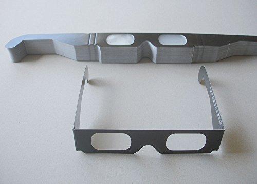50 Stück ChromaDepth 3D-Brille Standard (für geringere Betrachtungsabstände)