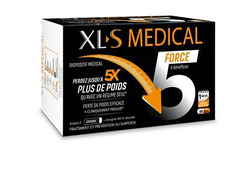 XL-S MEDICAL Force 5 - Une aide à la perte de poids efficace cliniquement prouvée (1) - Aide à...