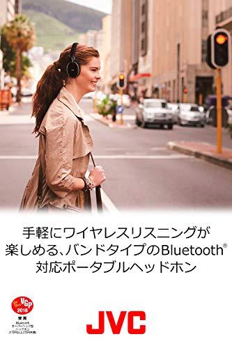 JVCHA-S88BNノイズキャンセリングヘッドホンBluetooth・NFC対応連続27時間再生有線接続対応ハンズフリー通話用マイク内蔵折りたたみ式テレワーク・テレビ会議向けブラック