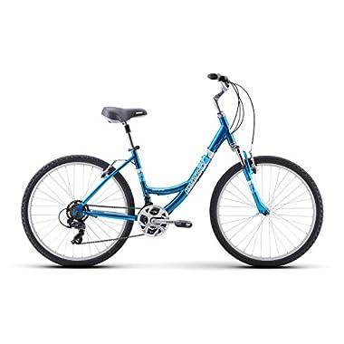 Diamondback Bicycles Women's Serene Classic 15  Frame Comfort Bike, Small/26, Blue