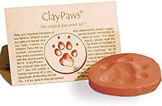 Kelco Paw Print Kit - Terra Cotta Clay