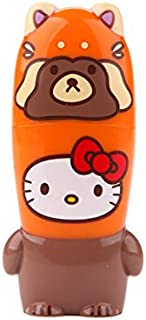 32GB 3.0 Raccoon Hello Kitty Loves Animals x MIMOBOT Designer USB Flash Drive with Bonus preloaded Mimory Content, Limited Edition by Mimoco