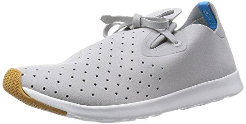 Native Shoes Apollo Moc Pigeon Grey / Shell White 42