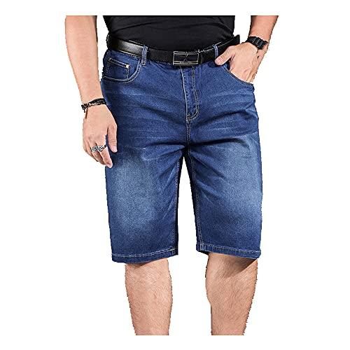 N\P Verano estiramiento pantalones cortos recta slim casual pantalones cortos de los hombres color sólido