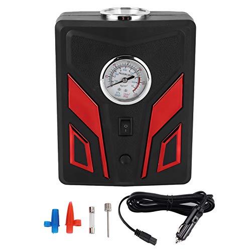 Akozon Inflador de neumáticos automático Compresor de Bomba de Aire Portátil con Luz LED 120W 150PSI Universal(Pantalla Digital)