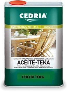 CEDRIA ACEITE PARA TEKA TECA 4L
