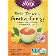 Yogi Tea Sweet Tangerine Positive Energy, 16 ct