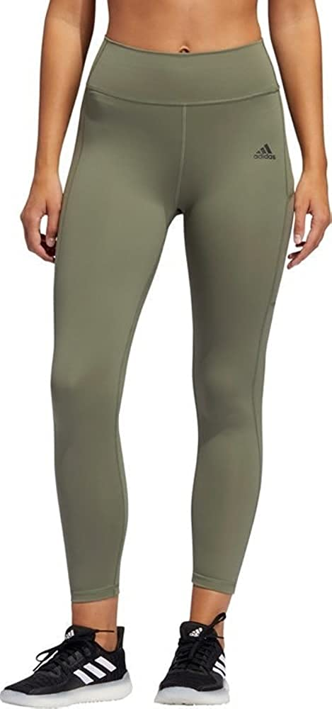 adidas Women's Circuit 3-Stripes Special 1 year warranty sale item 7 Tights Green 8 Black