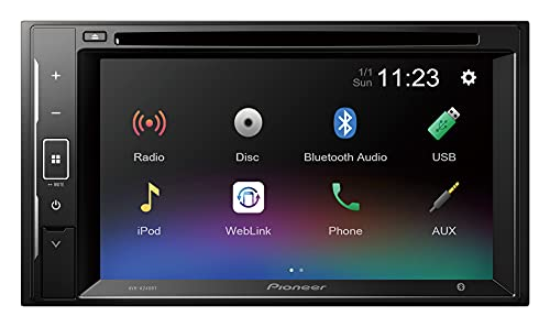 Pioneer - Display 2 DIN da 6,2' con CD e Bluetooth