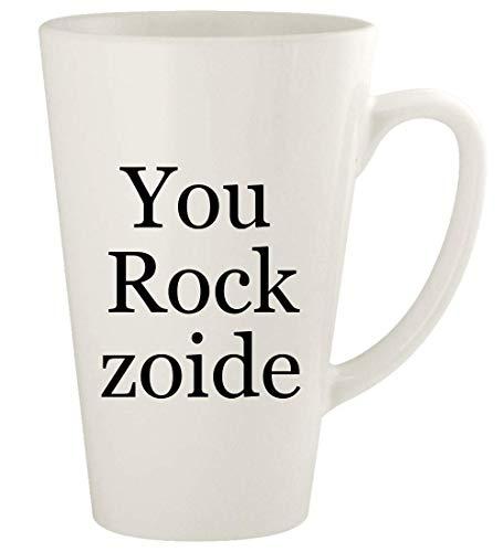 You Rock zoide - 17oz Ceramic Latte Coffee Mug Cup, White
