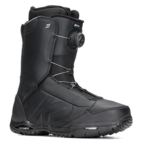 K2 - Boots De Snowboard Ryker Noir Homme - Homme - Taille 46 - Noir
