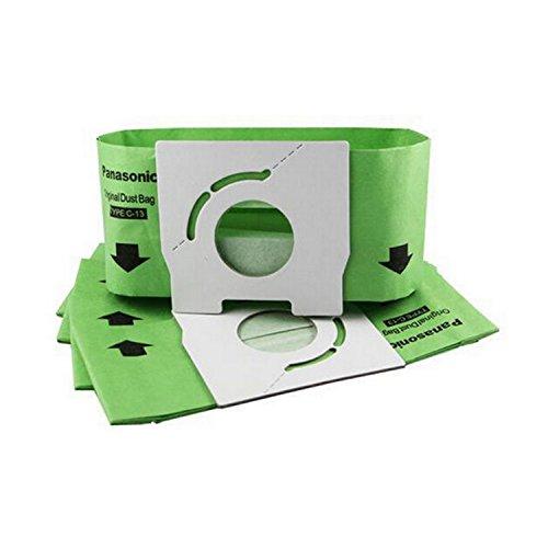 REYEE Bolsa de basura con filtro para aspiradora Panasonic MC-3920 MC-3300R MC-3300G 3310 MC-E3300 C-13