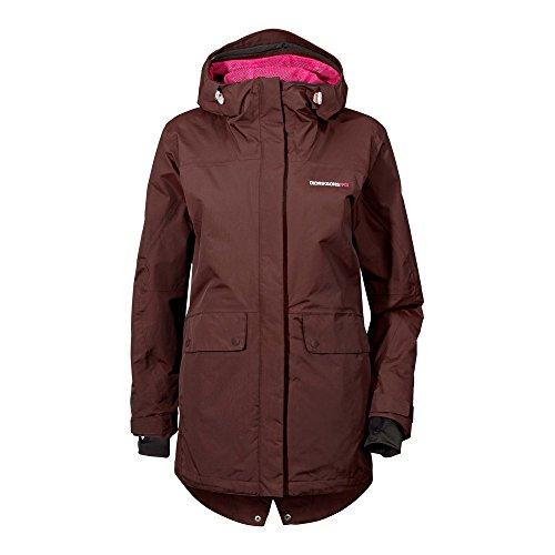 Didriksons Tina Women's Jacket - Winterjacke,Old Rust,40