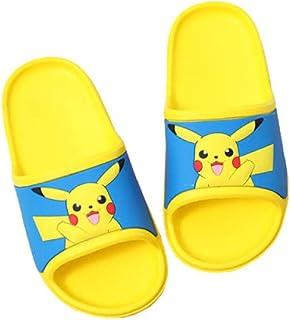 Pikachu Niños Lindo Baño Slipper Ducha Girls Boys Slide Sandals Poil Zapatos Piscina Casual Beach Slippers Flip Flaops Ver...