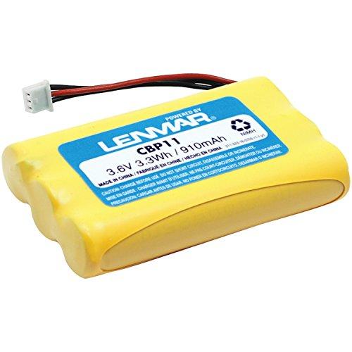 Lenmar Replacement Battery for Plantronics 63421-01 CT11 CT12 PL-63421-01 PL-CT11 PL-CT12 Replaces OEM