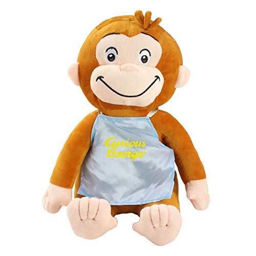 AYDQC Curioso Come George Scimmia Scimmia Carino Peluche Bambola Meng Po fengong ( Color : 1 , Size : 30cm )