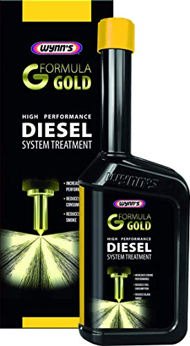 Wynn's 1831039 Nettoyant 76401 Formula Gold Traitement de Moteur Diesel 500 ML, Gris