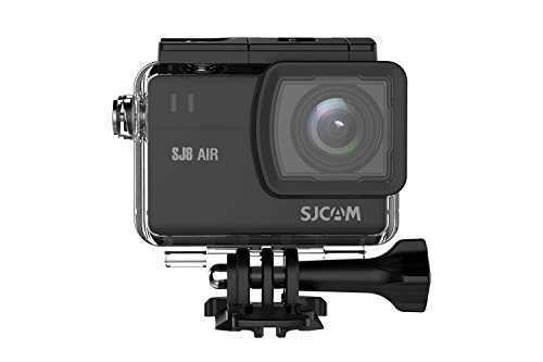"""SJCAM SJ8 Air 60FPS Action camera 14MP WIFI Sports Cam with 160°Wide Angle Lens,2.3"""" Touch Screen underwater camera,Wireless Remote Control supported Waterproof Cam (waterproof case Included)-Black"""