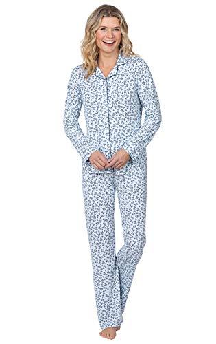 Addison Meadow Womens Pajama Set - Pajama Set for Women, Blue, Large / 12-14