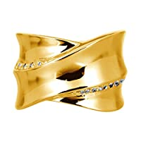 [ココカル]cococaru ダイヤモンド リング k18 イエローゴールド/ホワイトゴールド/ピンクゴールド 品質保証書 金属アレルギー 日本製(イエローゴールド 18)