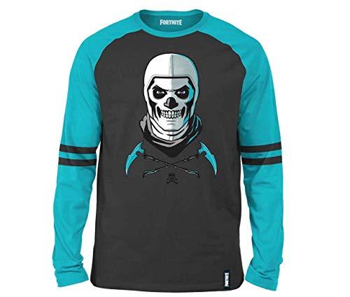 Epic Games Fortnite shirt met lange mouwen Skull Trooper Trendy Design