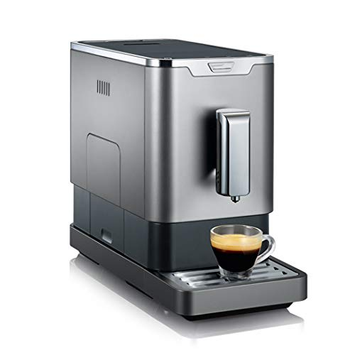 JGRH Kaffeevollautomat Espressomaschine für Gewerbe Kaffeemaschine Frisch gemahlener Kaffee-Maschine