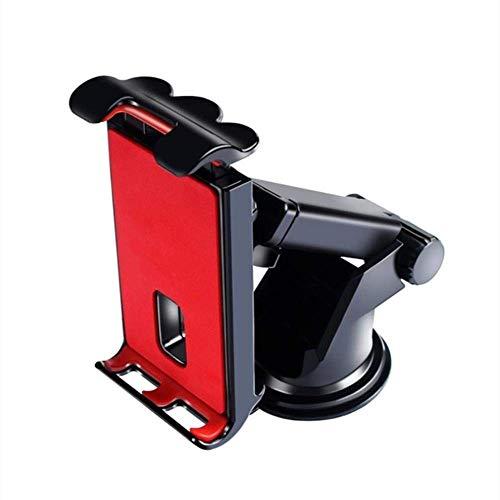 ZQJSC Tablet PC Supporto, 360 Gradi Supporto a Ventosa mobili Regolabile for Tablet GPS Telefono Mobile, Porta Telefono (Color : Red)