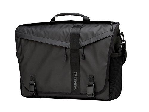 Tenba DNA 15 Slim Messenger Bag (Special Edition) Umhängetasche, 41 cm, Schwarz (Black)