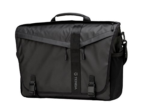 Tenba DNA 15 Slim Messenger Bag (Special Edition) Umhängetasche, 41 cm, Schwarz (Black)