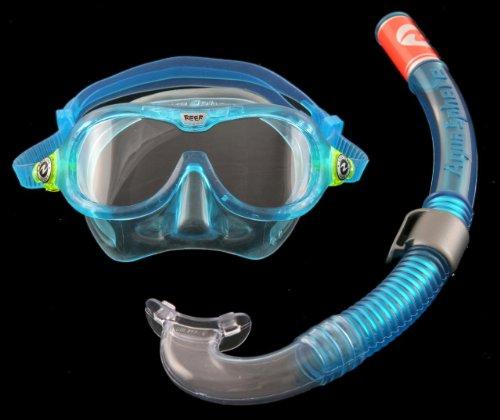Aqua Lung Kinder Maske & Schnorchel Set-Reef Dx + Air Dx, aqua, 109600