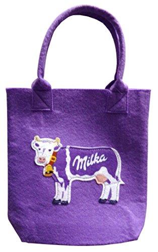 Milka - Filz Tasche 20 x 14 x 5 cm
