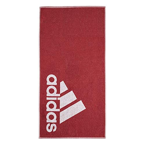 adidas Towel S Beach, Unisex Adulto, Legacy Red/White, NS