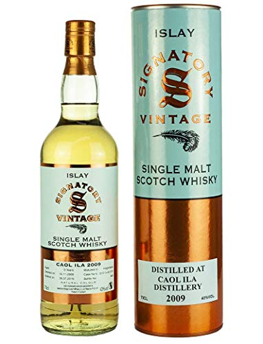 Caol Ila 2009 - Signatory Vintage - Single Malt Whisky (1x0,7l)