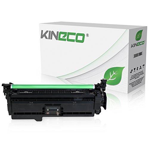 Kineco Toner kompatibel zu HP CE400X Laserjet Enterprise 500 M 575 C F 570 DN N XH Pro 500 Color MFP M 570 DN DW Color Flow MFP M 575 C - 507X - Schwarz 11.000 Seiten