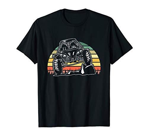 ATV Off Road Desert Sand Dune Buggy Retro Vintage Sunset T-Shirt