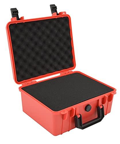 CCCZY Caja de herramientas de instrumentos de seguridad 280x240x130mm ABDOMINALES Caja de herramientas de equipo de herramientas de caja de herramientas de almacenamiento de plástico Maleta ex