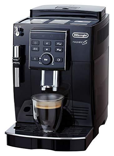 デロンギ (DeLonghi) コンパクト全自動コーヒーメーカー マグニフィカS ブラック ECAM23120BN