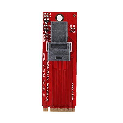 M.2 naar U.2 SFF-8639 riser-kaart M2 PCI-E SSD naar 36PIN SFF-8643 MiniSAS-adapterkaart PCI-Ex4 voor het moederbord Z97 Z170 H97 X99