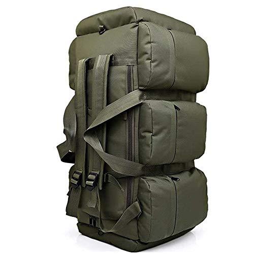 TnXan Rucksack, groß, für Camping, Rucksack, Tactical, Climbing, Military, Rucksack, groß, Camouflage, Outdoor, Schultertasche, 90 l
