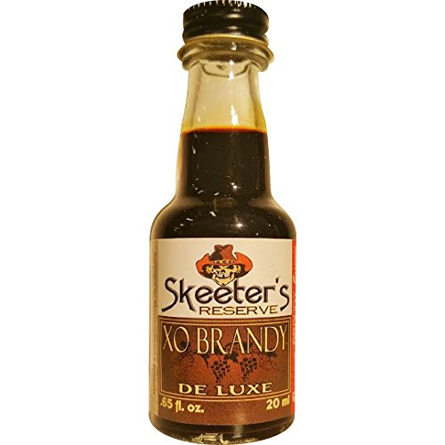 Skeeter's Reserve XO Brandy Premium Essence - Flavor Concentrate For Mixers and Cooking Recipes - Official Reloads For The Outlaw Kit MADE BY American Oak Barrel - 20 ml bottle