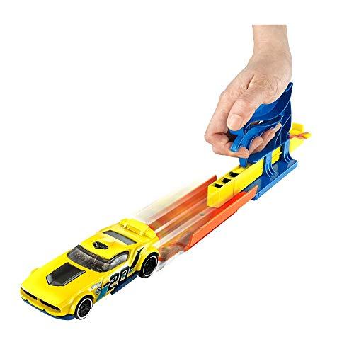 Hot Wheels Hw Lancador Basico Com Carro Mattel - 1 (UM) ITEM SORTIDO SEM OPÇÃO DE ESCOLHA