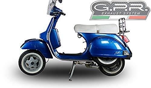 GPR Italia LML.3.CAT.AO Anlage komplett zugelassen und Katalysiert für Scooter Lml Star 200 2011/2016 4T bei Marce /4St With Gears Aluminium