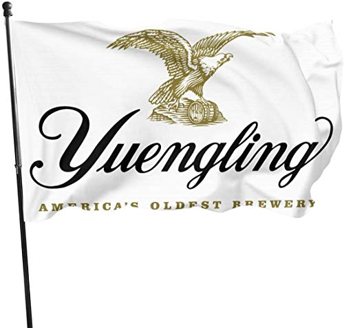Garten dekorative Flaggen Fahnen Yuengling Beer Logo Flag Anniversary Flag 3 X5 Feet House Banner Outdoor Flags