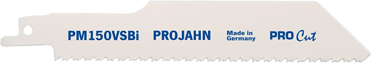 Projahn 64236 PM150VS - Hoja de sierra sable (Pro Cut, 150 x 10-14 mm, bimetal, VE5)