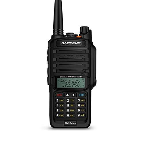 Walkie Talkie Radio CB 8W Radio VHF UHF de alto rendimiento UHF de banda dual Radio de 10 km Transceptor digital con tecnología FM Protable