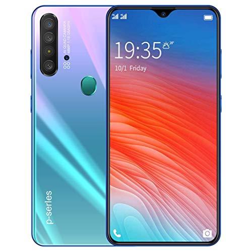 HSKB P37 Smartphone zonder abonnement, 8 Core 6,3 inch, waterdruppels, scherm, Face Unlock, 3000 mAh accu 200 W en 800 W, Dual Camera, wifi, GPS, 2 GB RAM, 16 GB ROM, Dual SIM, Android 6.0 (EU)