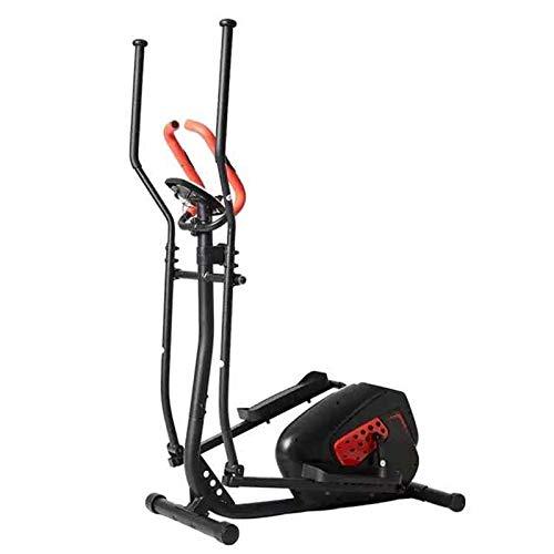 HFJKD Cocina elíptica aeróbica/Entrenador elíptico, Andador de Control magnético, Equipo de Bicicleta estática para Interiores, Cinta de Correr en casa, máquina elíptica silenciosa