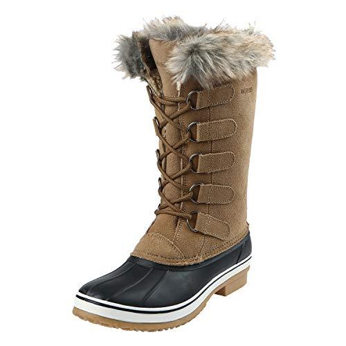 Northside Women's Kathmandu Snow Boot, Gingerbread, 8 Medium US