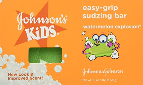 Johnsons Kids Easy-grip Sudzing Bar